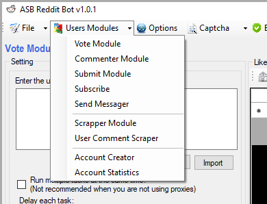ASB Reddit Bot | Reddit Marketing Software